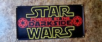 Star wars powered by the dark side 2foot x 4foot $35