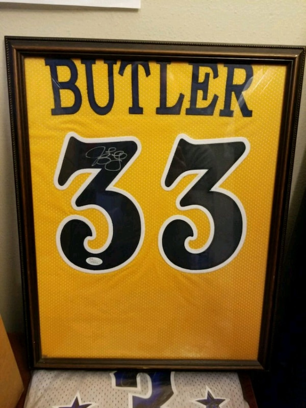 Used Jimmy Butler autographed Marquette jersey for sale in