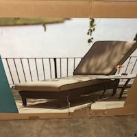 Brand new outdoor chaise patio furniture lounge chair Manassas, 20110