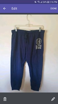 blue and white sweat pants Barrie, L4M 6Z2