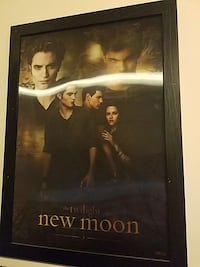 The Twilight New Moon poster with black frame Kansas City, 64119