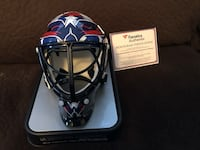Holtby Auto Capitals Mini Goalie Mask Hurlock, 21643