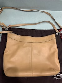 Coach - Tan Leather Handbag Gaithersburg, 20879