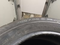 Michelin Latitude Alpin HP 265/55r19 7/10 多伦多, M1J 1G7