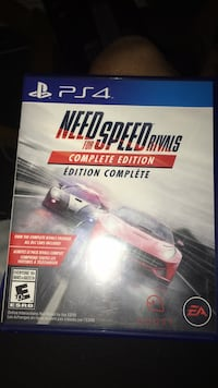 Need for Speed Rivals PS4 game case Sherwood Park, T8H 1L5