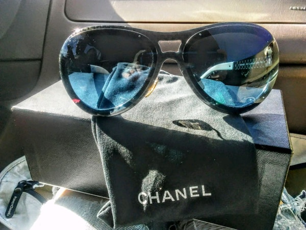 d33ebd007248 Used New! Chanel Carbon Fiber Aviator glasses 60 TODAY for sale in ...