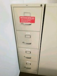 Putty metal 4-drawer filing cabinet Forestville
