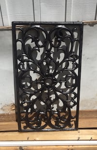 Black steel wall decor Orlando, 32822
