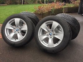 "17"" BMW OEM wheels (5 series)"