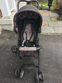 Crombi black and grey stroller Whitby, L1R 3C2
