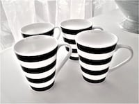 9 DIFFERENT STYLE COFFEE/TEA MUGS -DISHWASHER/MICROWAVE SAFE - PERFECT, NO CHIPS OTTAWA