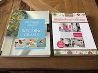 Crafting Books - Wedding Craft Projects & Scrapbook Ideas (x2 Books) GREAT CONDITION! MISSISSAUGA