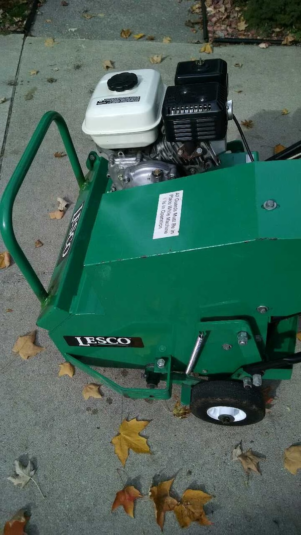 Lawn Aerator For Sale >> Used 19 Lesco Lawn Aerator For Sale In Trenton Letgo