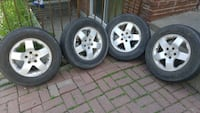 4 mags jantes rims 16po 5x114.3 original honda en super condition Montreal, H1G