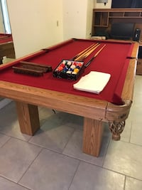 8 Dufferin Regent  Pool Table FREE DELIVERY AND INSTALLATION Langley, V3A 2Z7