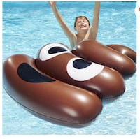 Play Day The big Stink Poop Float 4 Feet by 4 Feet New in Box Age 7+ Montréal