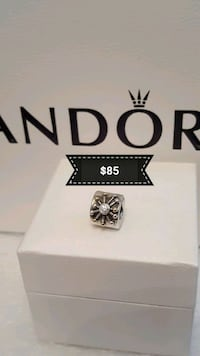 Authentic Pandora Silvet/ 14 K charm