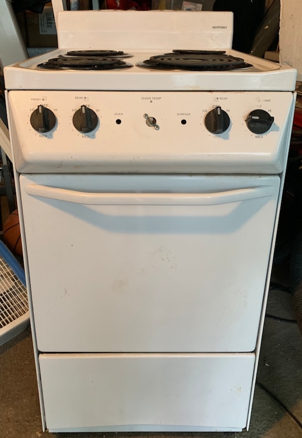 Sold Apartment Size Electric Stove