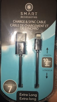 10 ft smart accessories charge and Sync cable Edmonton, T6B