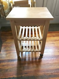 IKEA Butcher Block Cart