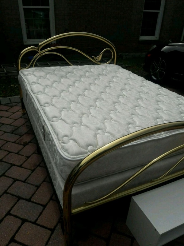 Full size Mattress with Frame