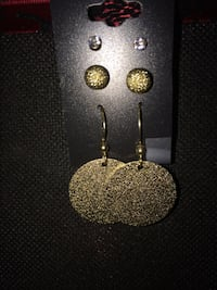 Gold Shade Earring Set
