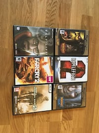 6 pc games Stockholm, 123 60