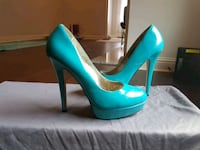 Size 9 - patent leather Teal Pumps Baton Rouge