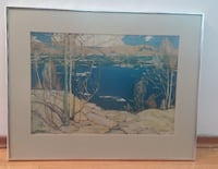 """Landscape Picture/Frame 26""""x20"""" Burnaby"""