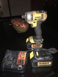 Impact 20V charger and two big batteries, used but in good working condition, plenty of life in this tools left. Jacksonville, 32257