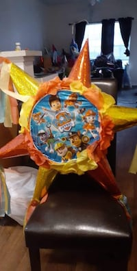 Paw patrol pinata and stick