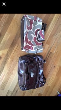 Two designer diaper bags!
