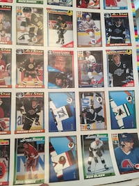 Ice Hockey trading card collection