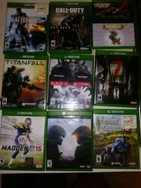 Xbox one games. Cayce, 29033