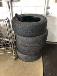 black auto wheel with tire set Wilmot, N3A