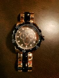 round silver-colored chronograph watch with link b Fort Myers Beach, 33931