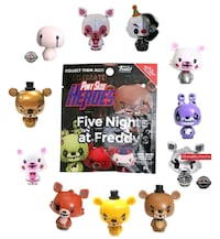 Five Nights at Freddy's Funko Pint Size Heroes Set Spring, 77373