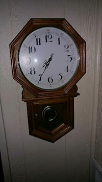 Clock , 21 inches tall