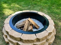 Fire pit installation Burr Ridge