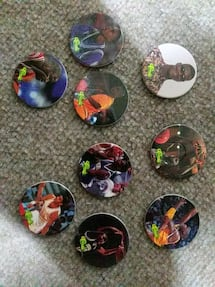 NBA Pogs (including 3 shaq pogs)