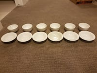 Dessert / Small Side / Cereal Bowl (12 Bowls) - Ma Calgary