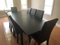 EXTRA LARGE KITCHEN TABLE AND 8 CHAIRS - EXCELLENT CONDITION TORONTO