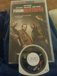 Psp movie FOUR BROTHERS Olympia, 98502