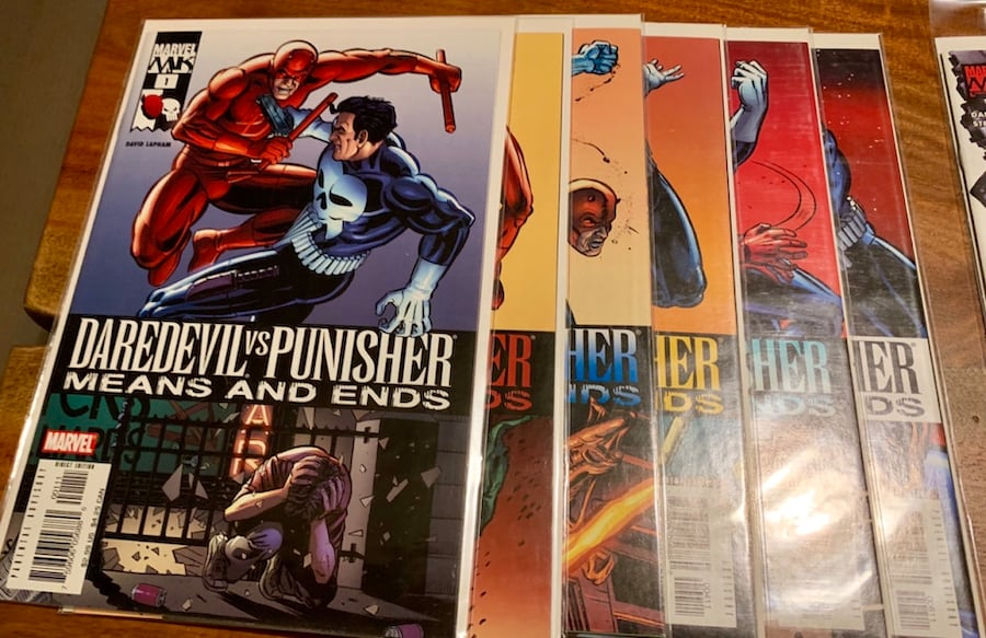 Marvel MAX Punisher Comic Collection! #1-55 (ex.29) with Specials 4b6669aa-9d3f-4ad5-8f5c-7aeee97d90c8