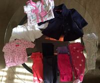 Babygirl 0-3 months clothes and hats and mitts  Zanesville, 43701