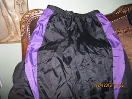LIKE NEW *** SIZE XL UNISEX Nylon Rain / Wind / Light Snow Pant