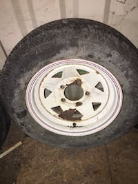 Trailer tires and wheels different sizes
