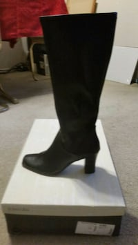 Brand new long black boots Size 8.5 Syracuse, 13205