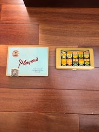 Antique cigarette tins. Mint condition  only $65 each or own both for $120. Truly a rare find Edmonton, T6R 0B1