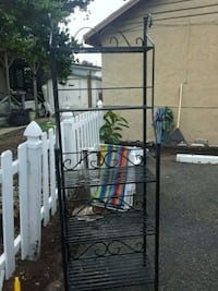 black metal 3-layer rack New Smyrna Beach, 32168